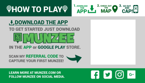 Munzee – Scavenger Hunt » Grow the Game with New Referral Products!
